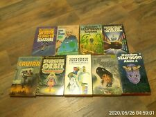 science fiction THEODORE STURGEON lot of nine short story paperback collections