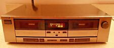 JVC TD-W75 Dual Stereo Cassette Tape Deck Record Play Dolby B C