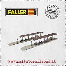 FALLER 120191 coppia di banchine per stazione ferroviaria - scala 1/87