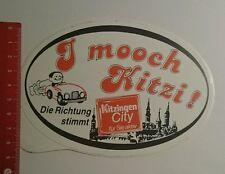 Aufkleber/Sticker: Kitzingen City i mooch Kitzi (080916172)