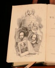 1849 The Works of William Shakspere Plays and Poems C. Knight Illustrated Harvey