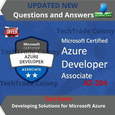Latest AZ-204 - Developing Solutions for Microsoft Azure Exam Test QA PDF File