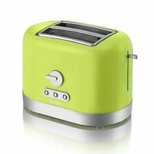 Swan ST10020LIMN 2-Slice Toaster in Lime Green - Brand New