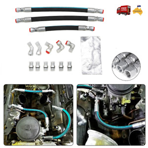 High Pressure Oil Pump HPOP Hose Line III Kit Fit For 99-03 7.3L Powerstroke AU