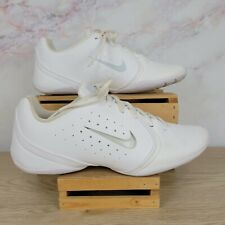 NIKE Womens Sideline 3 White Cheerleader Athletic Shoes 10 No Inserts 647937 100