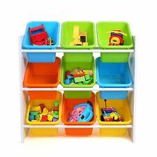 Kinderregal Spielzeugkiste Aufbewahrungsregal Kindermöbel Regal Aufbewahrung Box