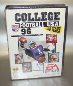 BRAND NEW College Football USA 96 Factory Sealed Sega Genesis 1995