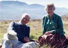 HM Queen Elizabeth Prince Phillip Size 5x7 Colour Photograph (5)