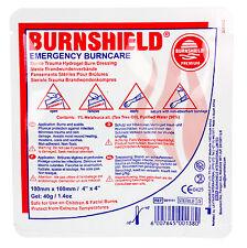 "Premium Burnshield Gel Dressing Burn Dressing Pad 4""x4"" - For First Aid & Home"