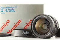 [MINT in BOX] Mamiya G 50mm F4 L Wide Angle MF Lens For Mamiya 6 From JAPAN