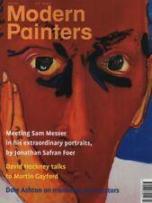 "DAVID HOCKNEY INTERVIEWED - SAM MESSER - JOHN BERGER - ""MODERN PAINTERS"" (2001)"