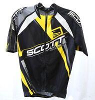 Scott RC Pro SL Road Jersey Mens Medium Black/Yellow (New With Tags)
