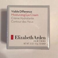 Elizabeth Arden Visible Difference Moisturizing Eye Cream 0.5 oz New in Box