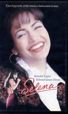 Selena (1997) VHS Warner 1a Ed.  Jennifer Lopez Edward James Olmos Gregory Nava