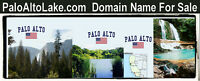 Palo Alto Lake .com  Domain Name For Sale URL Book Your Resort Camp RV Boat Rent