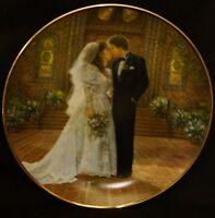 The Wedding Reco 1988 Sandra Kuck Plate Collection # 3688