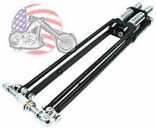 "22"" DNA Stock Black Narrow Glide Springer Front End Kit Harley Chopper Bobber"