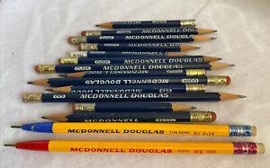 Lot of 15 Vintage McDonnell Douglas Pencils and Pens