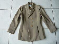 ARMANI COLLEZIONI Blazer beige Gr. 36 (ITA 42) Jackett Schurwolle wool Italy