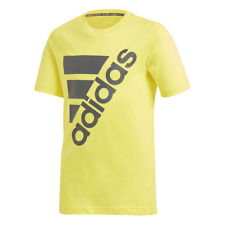 Adidas Kids Young Boys Tshirt Must Have Badge Of Sport Tee Training DV0796