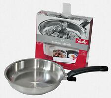 Poêle Crispy Steelux Classic Inox Gris FISSLER 121 301 28 100 D 28 cm