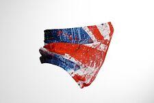 More details for union jack flag  - grunge - cotton snood/neck gaiter - uk made