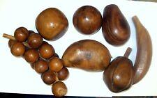 Vintage Solid Wooden Fruit