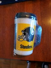 Vintage 1990's 7-Eleven  Pittsburgh Steelers 20oz Insulated Mug