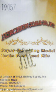 Precision Scale S #19057 Hooks, Rerail Frogs, D&RGW Tender (Brass Castings)