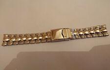 Bracelet/strap/armband/20mm steel acier effet polished quality ++ for iwc omega