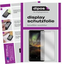 2x Nokia 6.1 2018 Screen Protector Protection Crystal Clear dipos