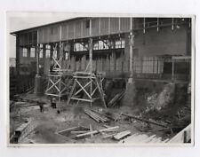 PHOTO ANCIENNE Ouvrier Travaux de construction Bois Planche  Vers 1950 Artisan