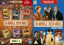 Horrible Histories Series 1 2 3 4 5 6 7 Season 1-7 Region 4 DVD New