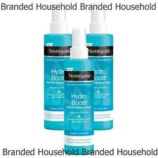 3 x NEUTROGENA HYDRO BOOST HYDRATING SPRAY COOLS  FACE BODY NORMAL TO DRY SKIN