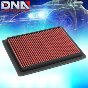 FOR 1998-2004 CHRYSLER 300M LHS DODGE INTREPID RED HIGH FLOW AIR FILTER PANEL