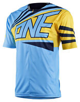 One Industries ION Bike Jersey Shirt Blue Zip BMX MTB NWT Small Medium Large XL