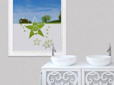 Sichtschutzfolie Bad Seestern Badezimmer maritim Badfenster Dusche Fensterfolie