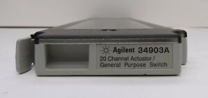 Keysight Agilent HP 34903A 20 Channel Actuator General Purpose Switch
