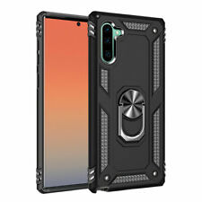 Samsung Note 10 Shockproof Military Case Cover Armor 360 Stand Ring Holder