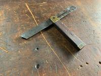 Antique William Marples Sliding Bevel Gauge, Carpenters Tools, Rosewood