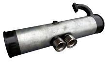 Smart Car Exhaust - TWIN CENTER STRAIGHT-THROUGH GASOLINE 0.6, 0.7 - 1998 - 2004