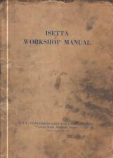BMW ISETTA 250 & 300 BUBBLECAR 1955-62 ORIGINAL FACTORY WORKSHOP MANUAL