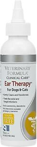 Dog And Cat Ear Drops Infection Antibiotic Treatment Medicine Yeast Fungus NEW