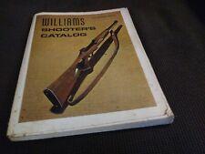Williams Shooter's Catalog 12th Edition Vintage Hunting Rifles Guns Shotguns