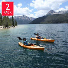 """Emotion Glide 9'8"""" Sit-In-Kayak 2-Pack With Paddle, Tangerine, NO TAX"""