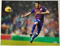 DAVID VILLA Signed 11x14 Photo #4 Auto SPAIN Barcelona NYCFC ~ Beckett BAS COA