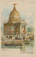 1900 Paris Exposition Le Pavillon National Des Etats-Unis United States – udb