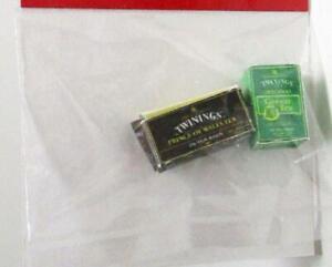 EMPTY English Tea Boxes tin1102 Dollhouse Miniature