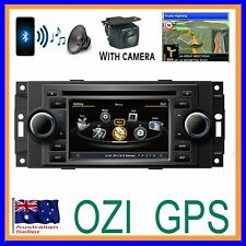JEEP GRAND CHEROKEE 2006-10 OZI GPS DVD NAVI BLUETOOTH &CCD CAMERA STEREO