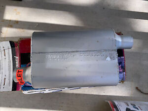 """Flowmaster 942443 40 Series Delta Flow Muffler 2.25"""" In/2.25"""" Out/19"""" Long"""